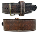 Titan Oiled Buffalo (American Bison) Prong Belt [под заказ]